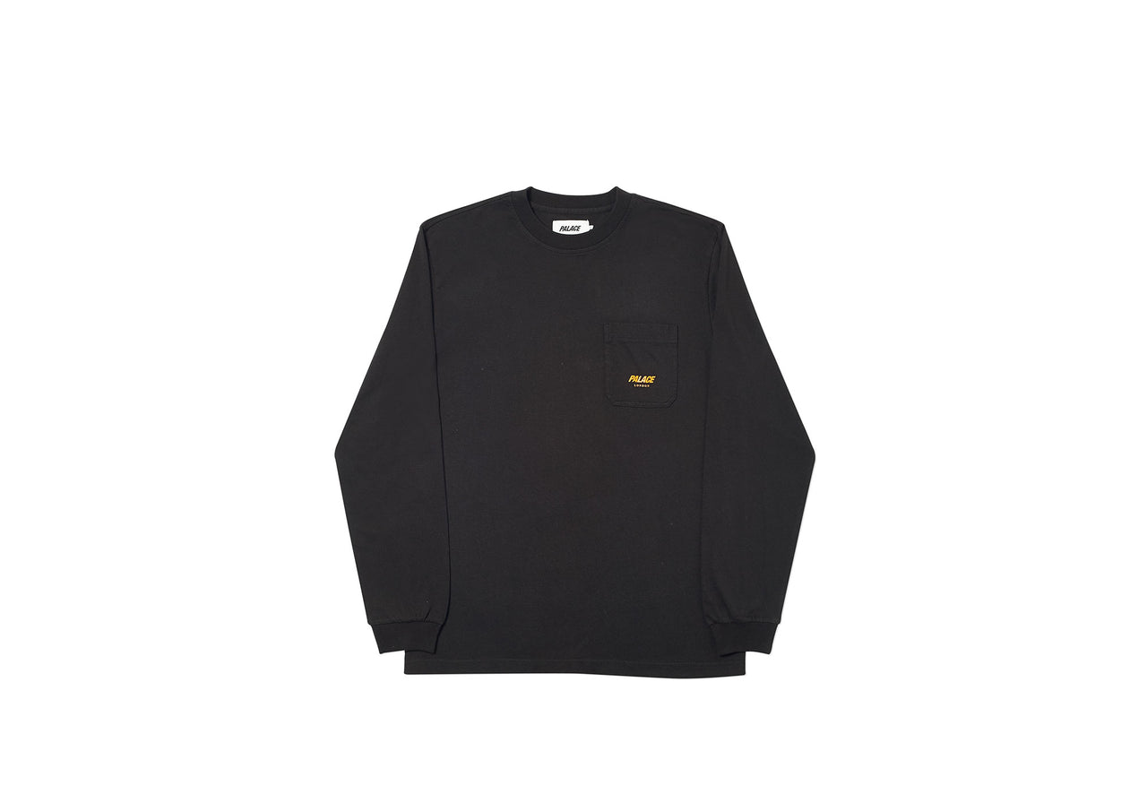 P-LINE POCKET LONGSLEEVE BLACK