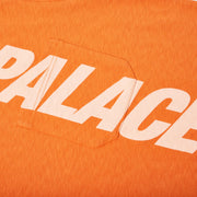 P-SLUB POCKET T-SHIRT ORANGE