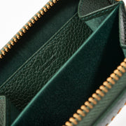 LEATHER WALLET DARK GREEN