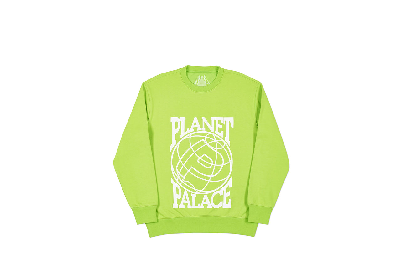 PLANET CREW LIME GREEN