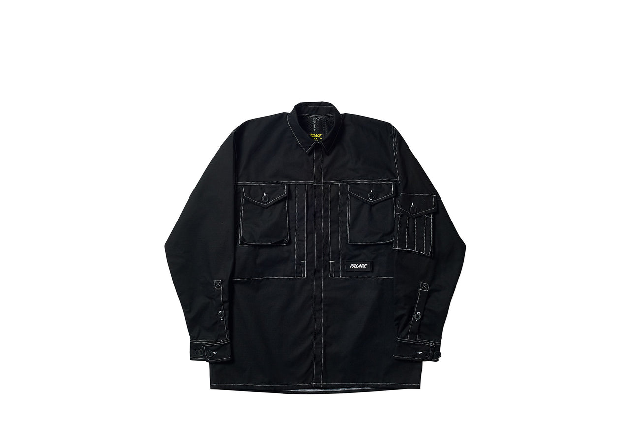 ARK AIR SHIRT / JACKET BLACK