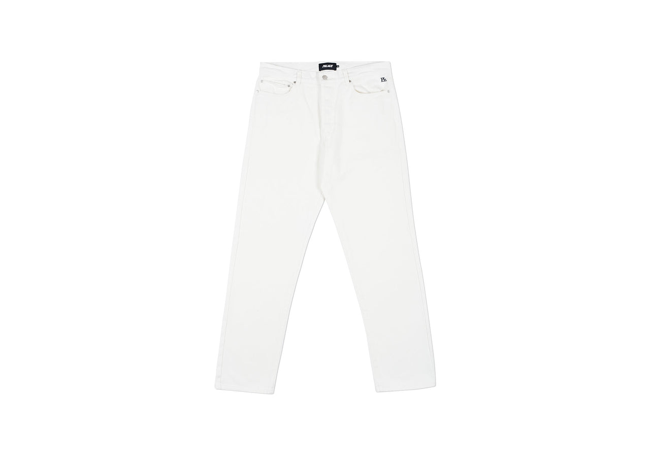 PJS PALACE JEAN WHITE DENIM