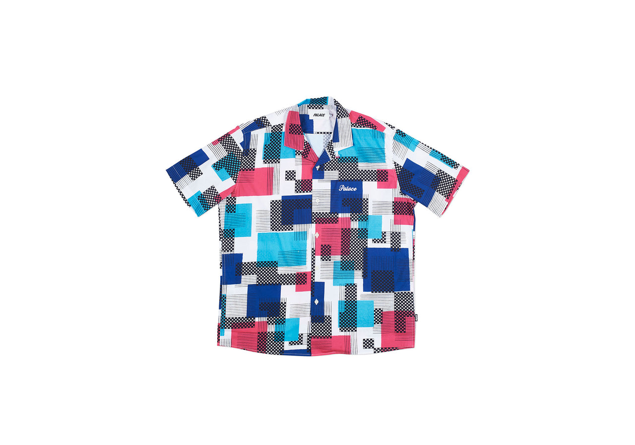 MAXO RELAXO SHIRT BLUE / PINK / LIGHT BLUE