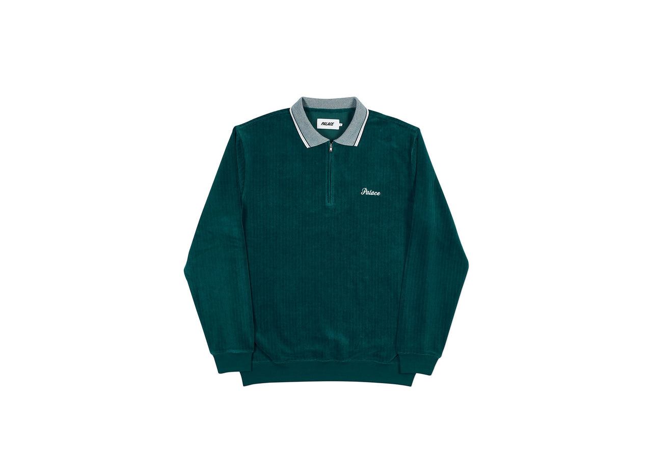LOUR POLO CREW GREEN