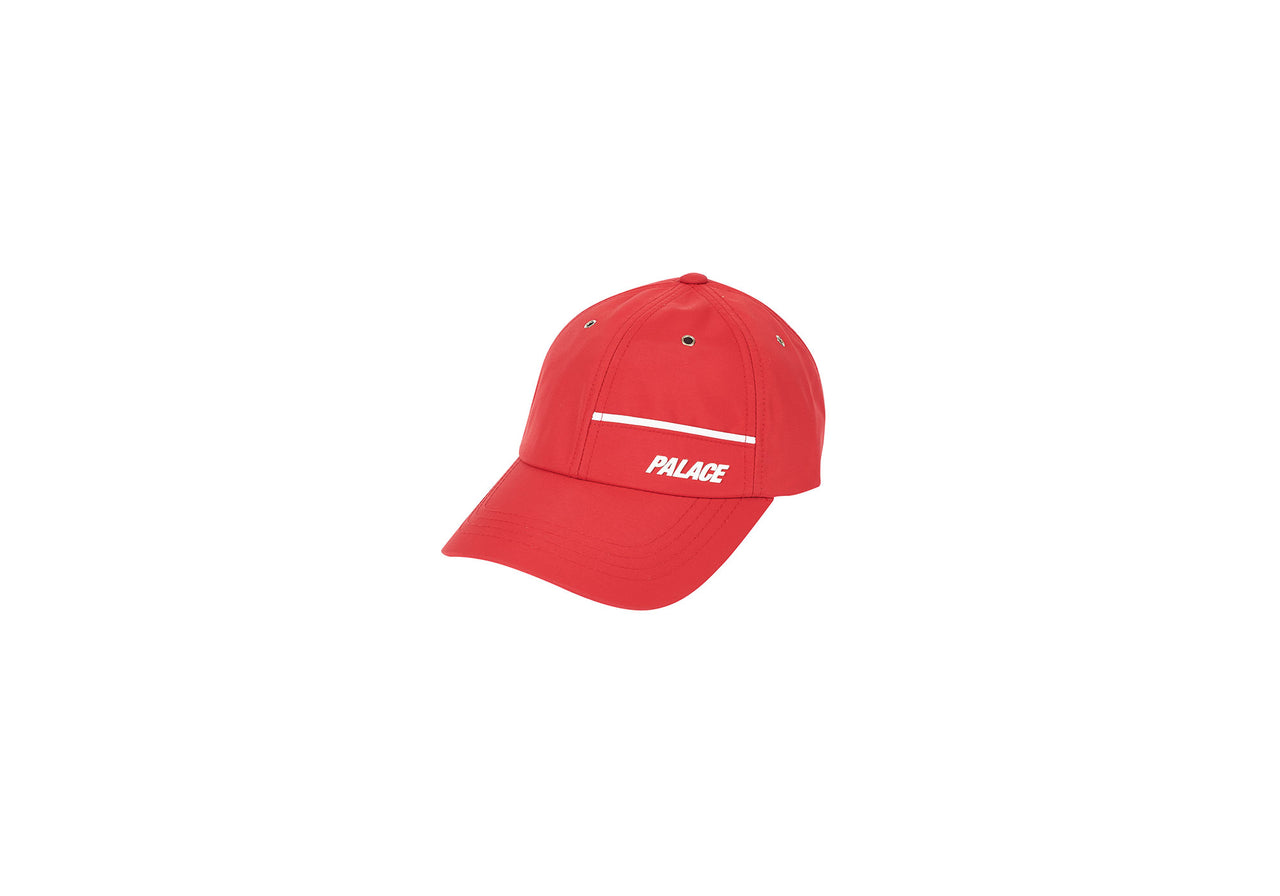 TRACK SHELL 6-PANEL RED