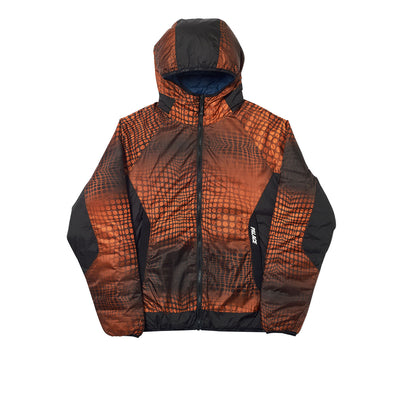 REVERSIBLE SPHERIE JACKET GOLD / PETROL