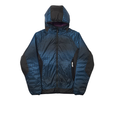 REVERSIBLE SPHERIE JACKET TEAL / PLUM
