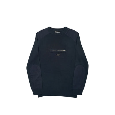 QUART ZIP KNIT NAVY