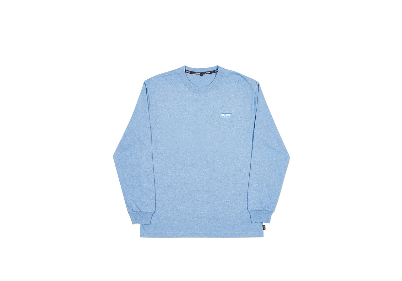 BASICALLY A LONGSLEEVE CLASSIC BLUE MARL