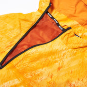 ASYMETRIC REAL TREE SHELL TOP ORANGE