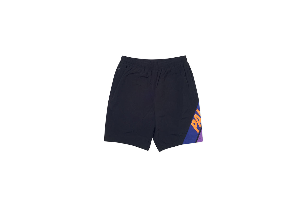 PAL BEAM COTTON SHELL SHORTS BLACK