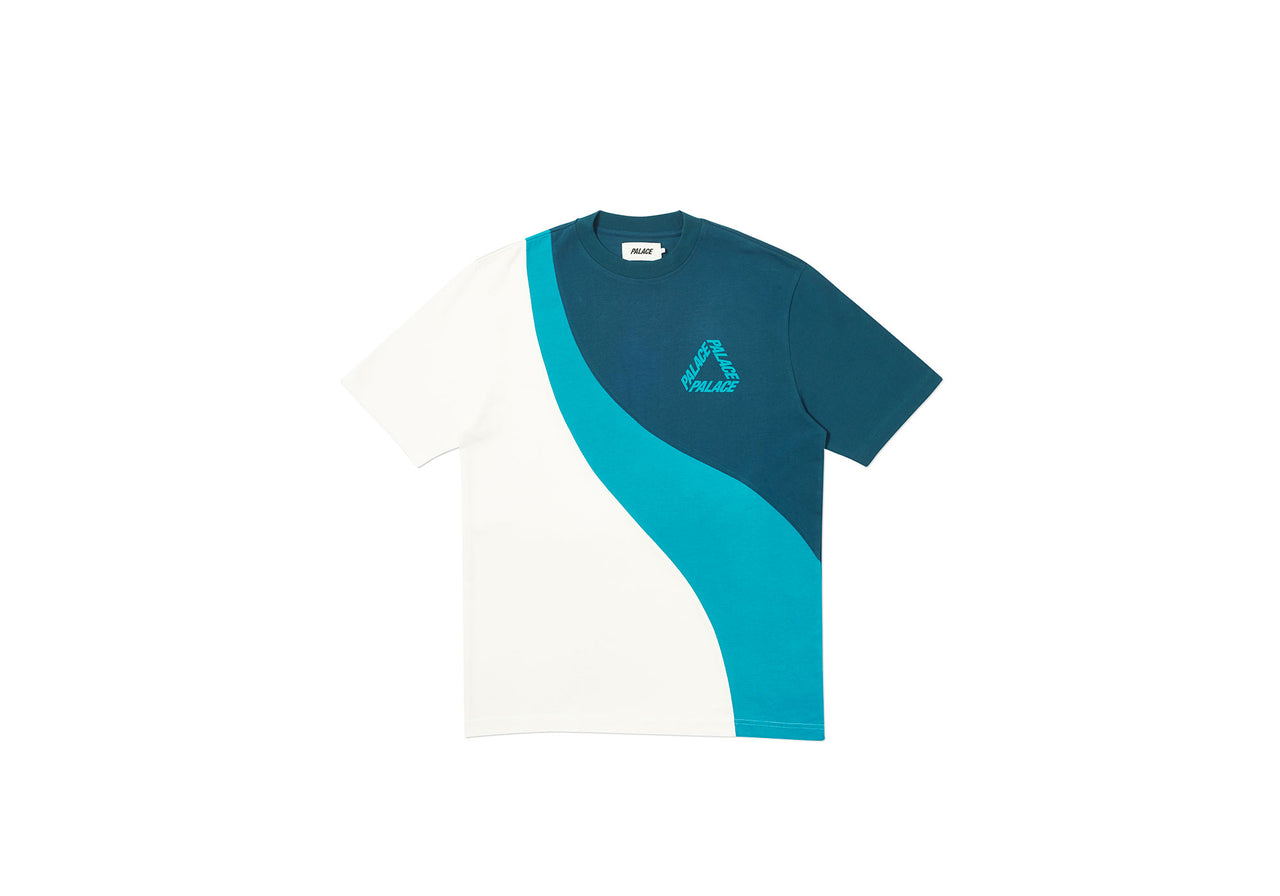SPLITTER TRI T-SHIRT TEAL