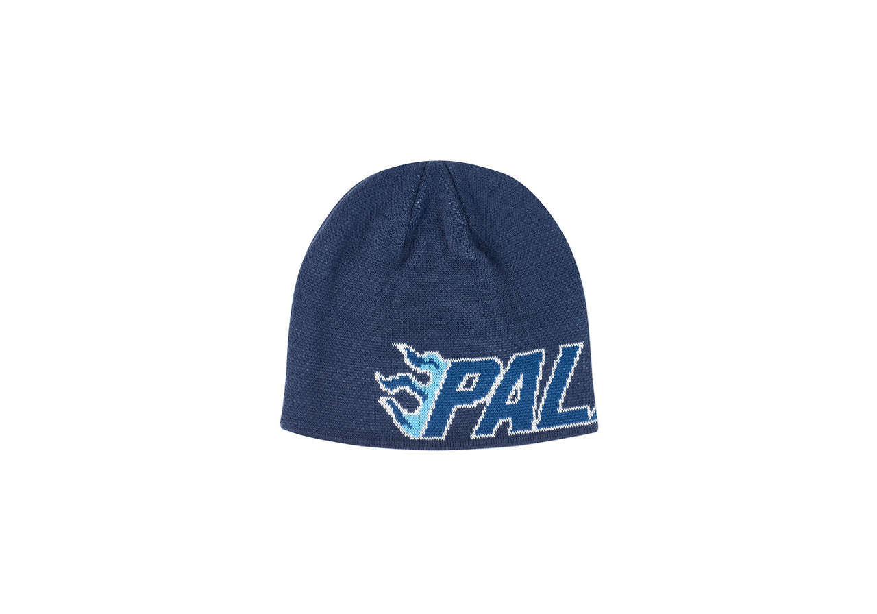FLAME-GRILL BEANIE NAVY