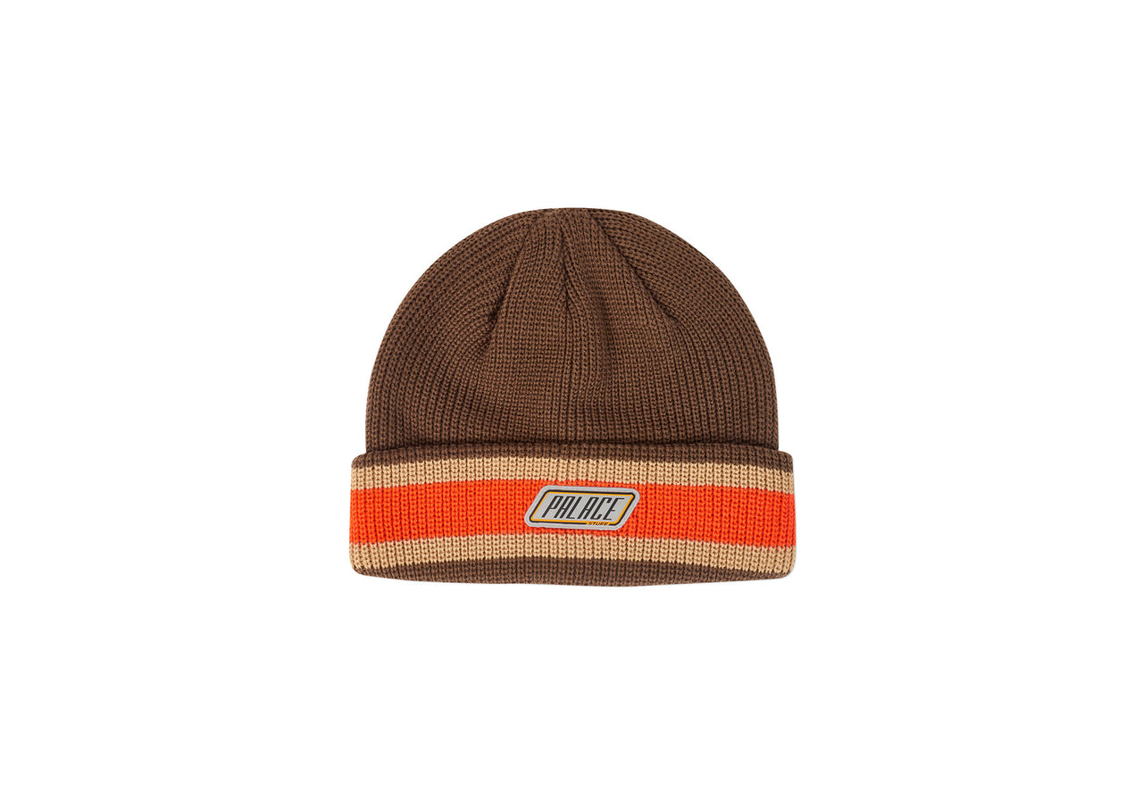 STUFF KNIT BEANIE BROWN