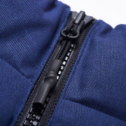 REACTO PUFF ZIP OFF JACKET BLUE