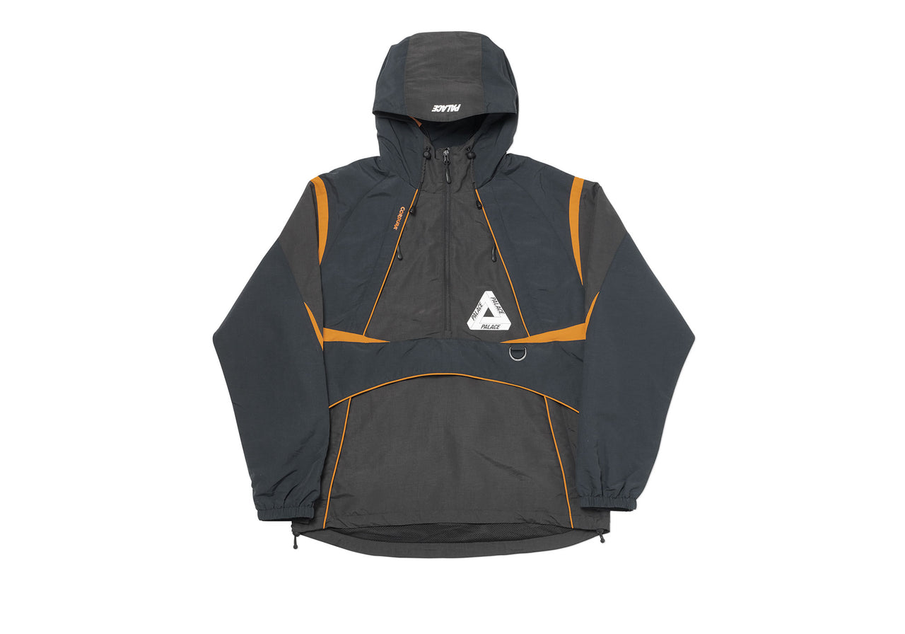P-DURA SHELL TOP BLACK / GREY / ORANGE