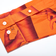 ARMLESS SHIRT ORANGE