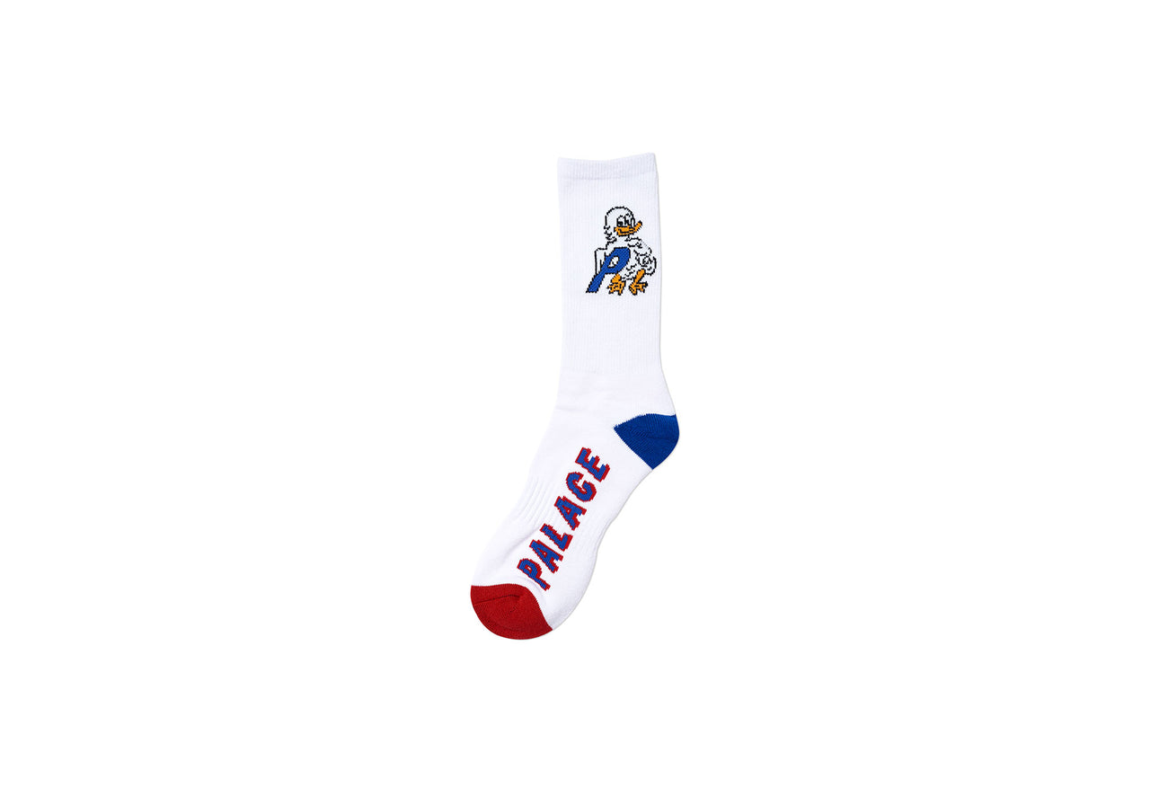DUCK OUT SOCK WHITE