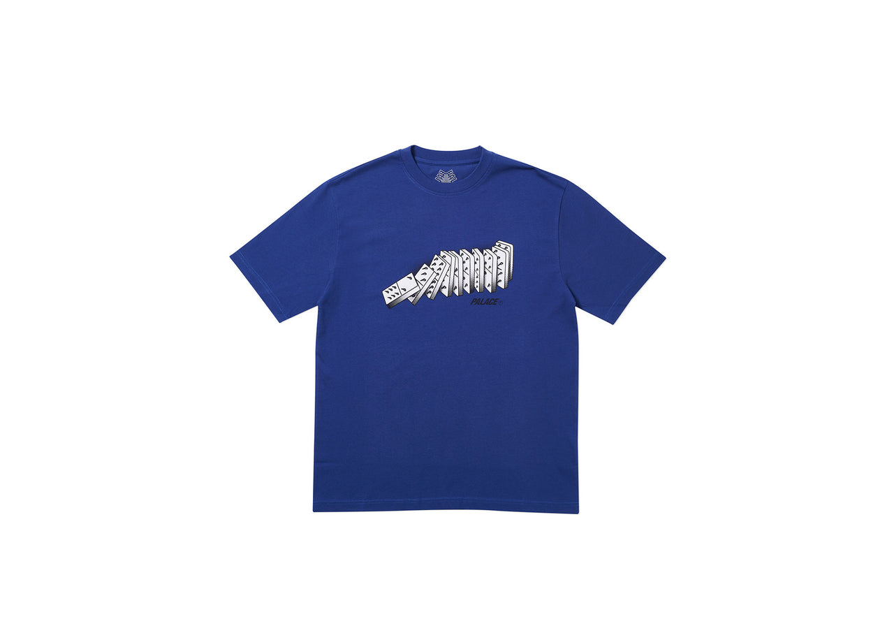 DOMINO T-SHIRT BLUE
