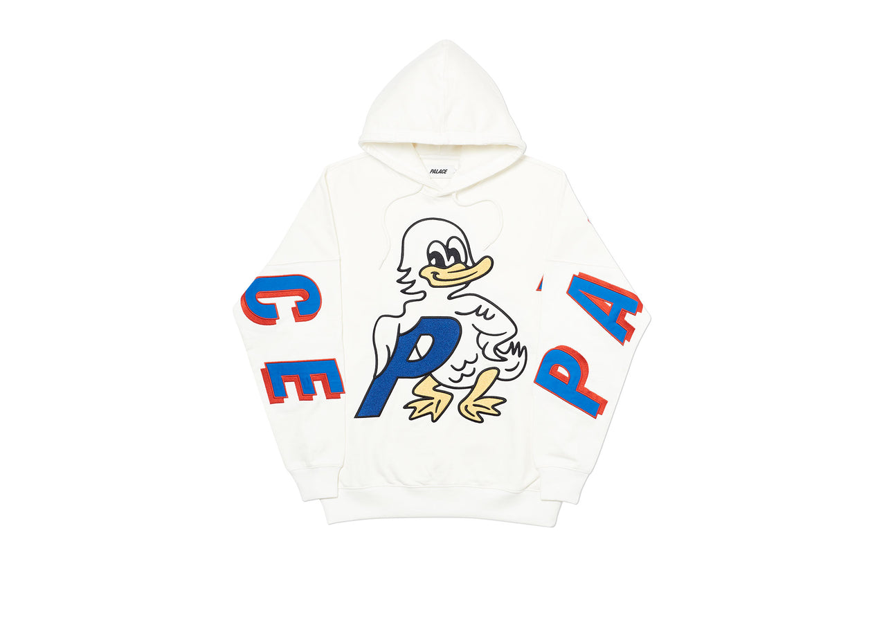 DUCK OUT HOOD WHITE