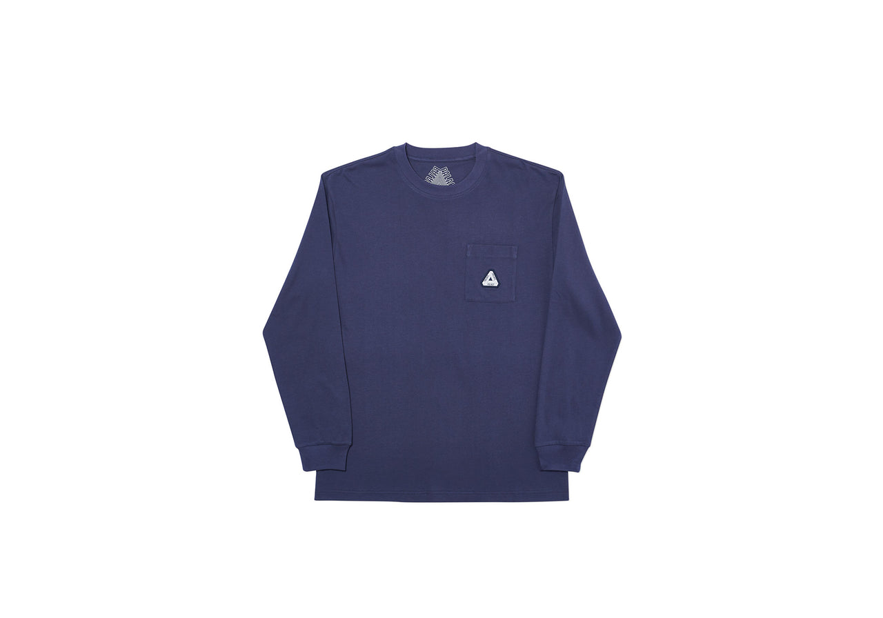 SOFAR POCKET LONGSLEEVE NAVY