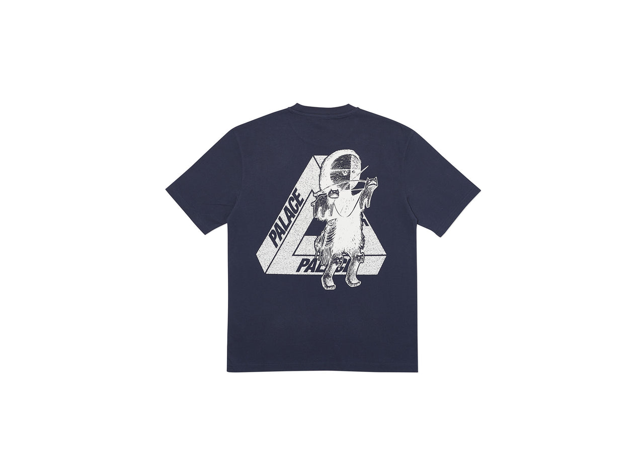U FIGURE T-SHIRT NAVY