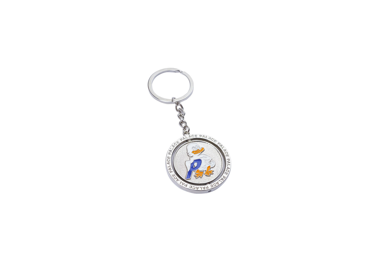 DUCK OUT KEYRING SILVER