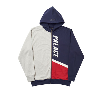 FLAGGO ZIP HOOD RED / WHITE / BLUE