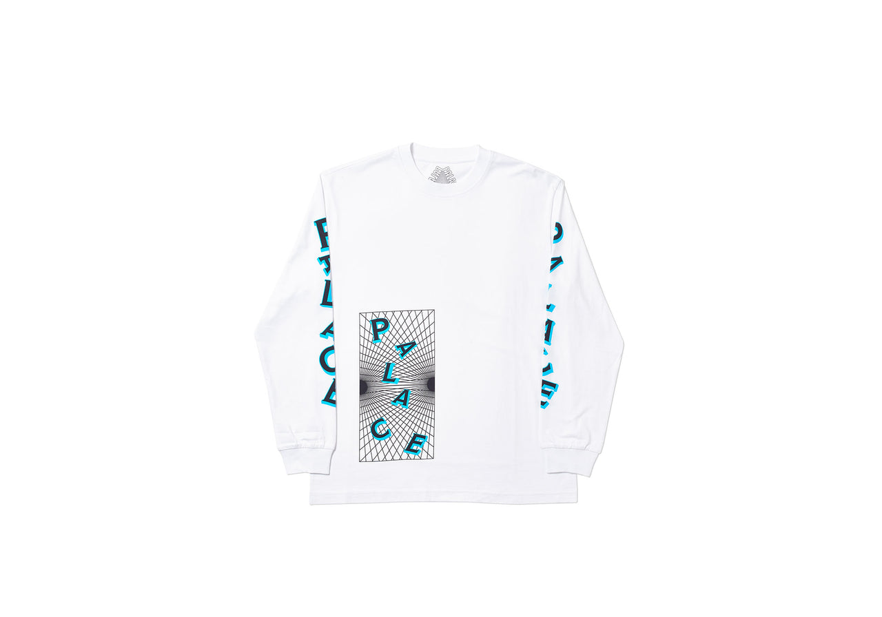 GRIDDLE LONGSLEEVE WHITE