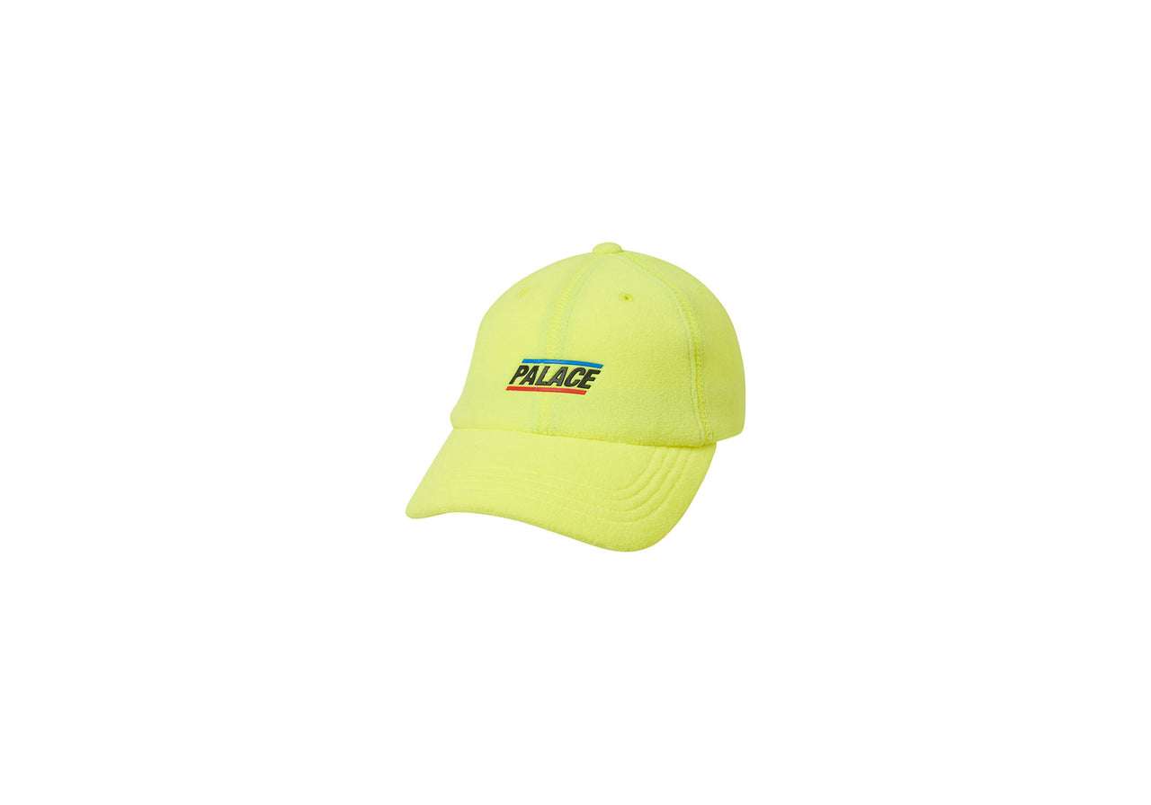 FLEECEY 6-PANEL FLURO YELLOW