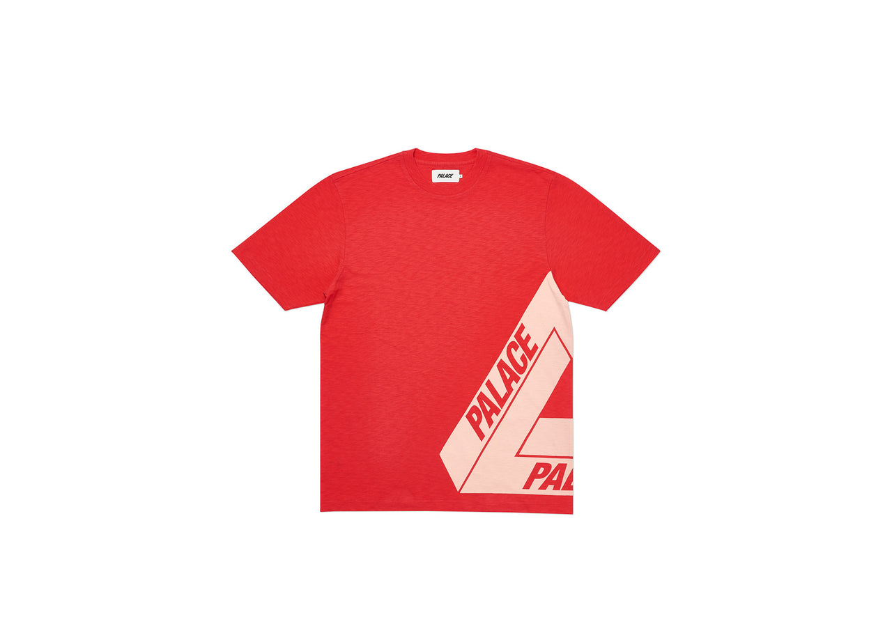 SIDE FERG T-SHIRT RED