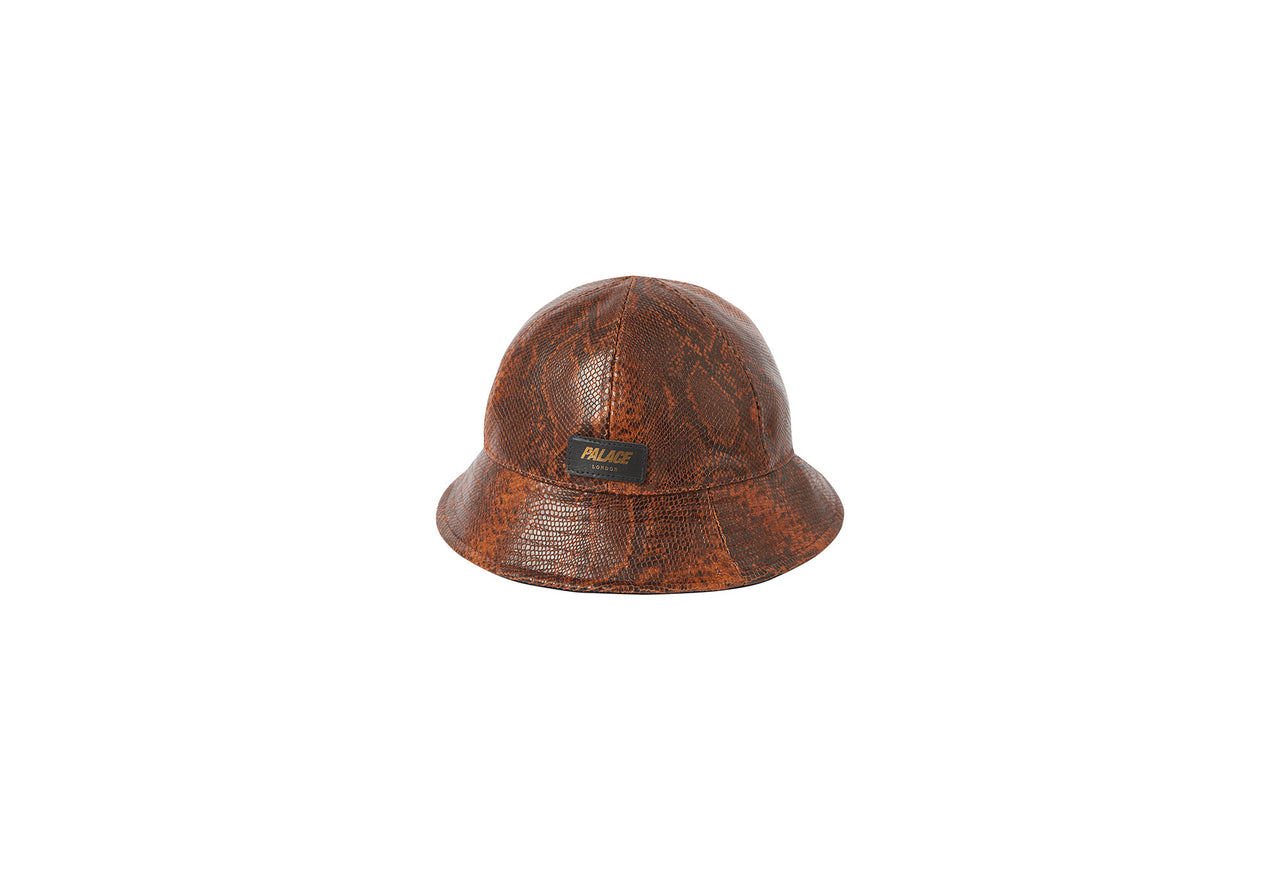 LEATHER BUCKET BROWN