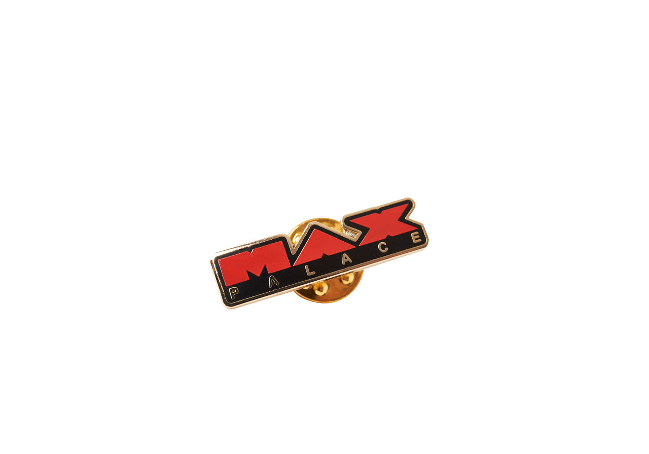 MAX PALACE PIN BADGE RED / BLACK