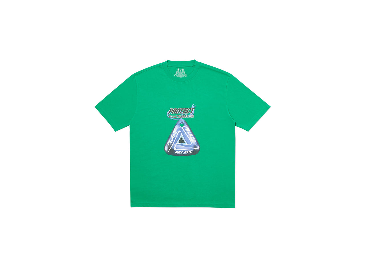 EVIL EYE T-SHIRT GREEN