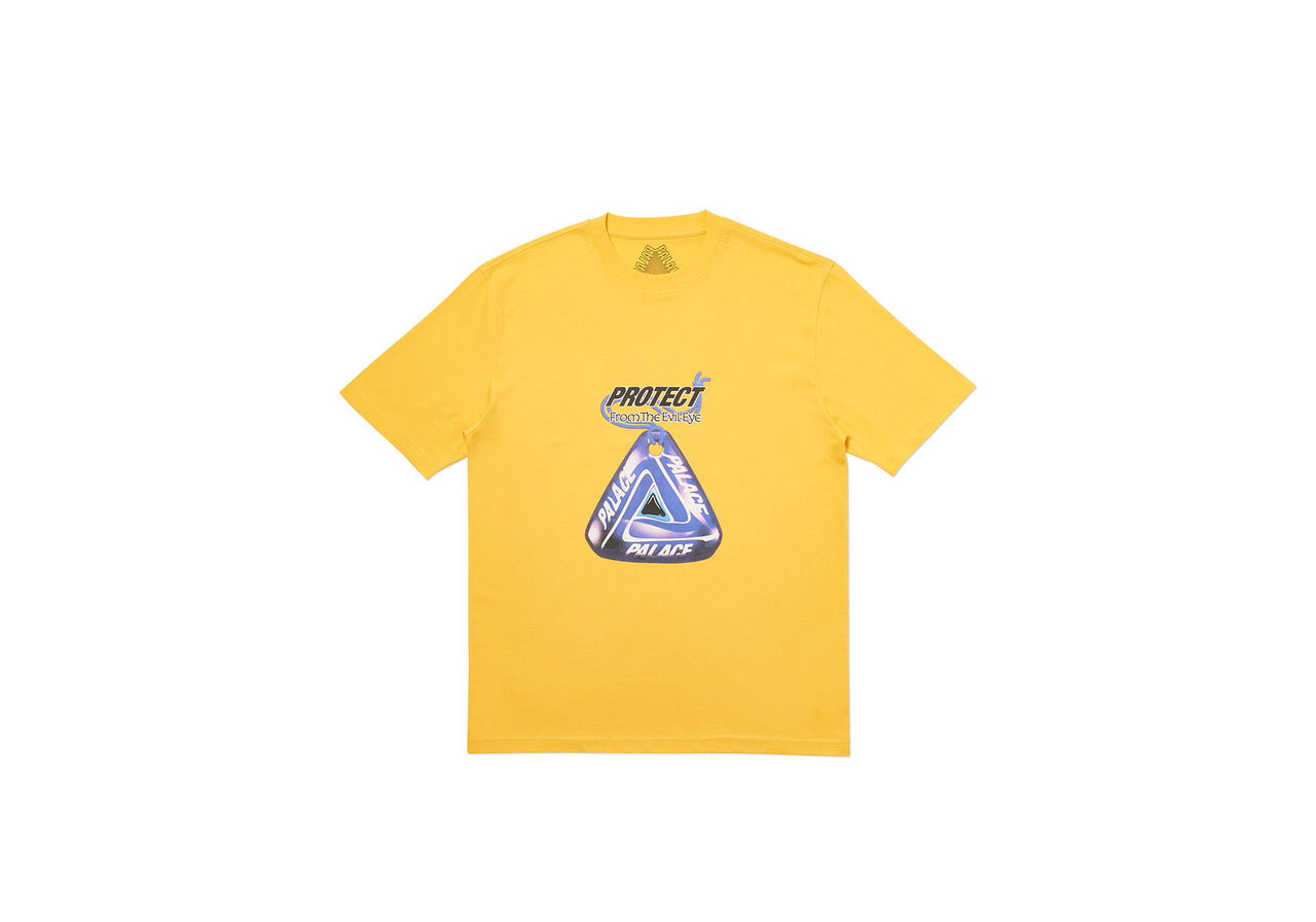 EVIL EYE T-SHIRT YELLOW
