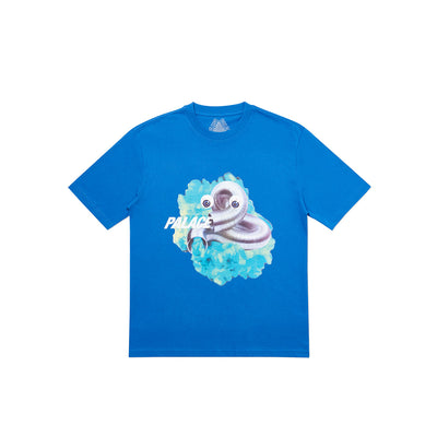 GASSED T-SHIRT BLUE