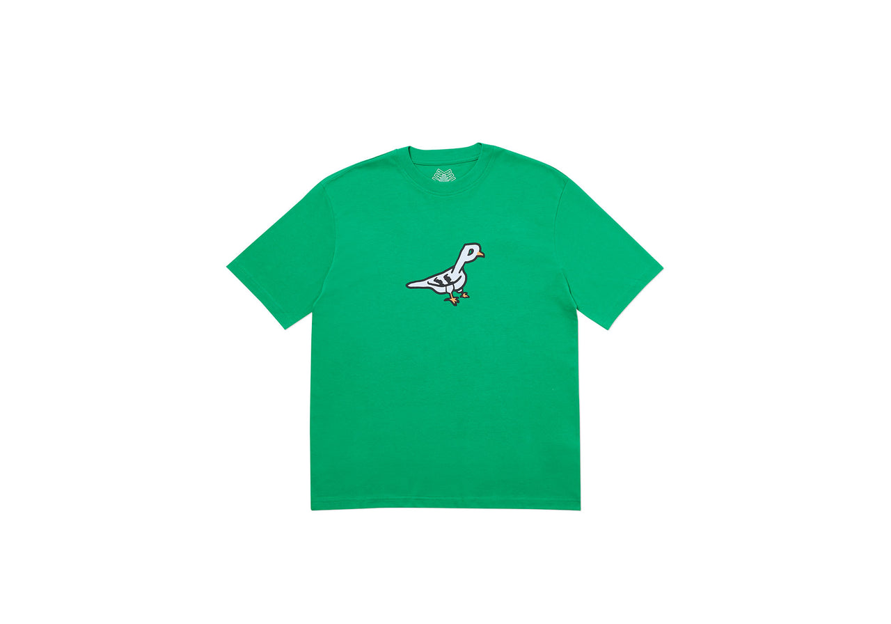 PIGEON HOLE T-SHIRT GREEN