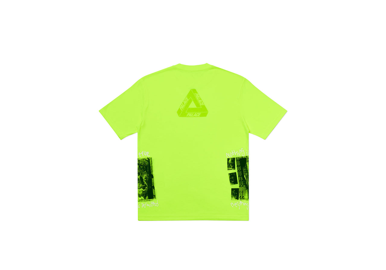 NOTHING IS TRUE T-SHIRT FLURO YELLOW