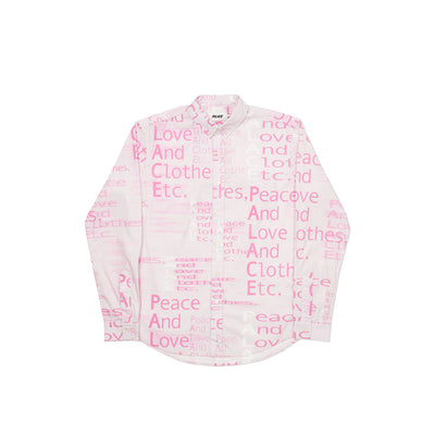THIS IS WHAT PALACE STANDS FOR SHIRT PINK