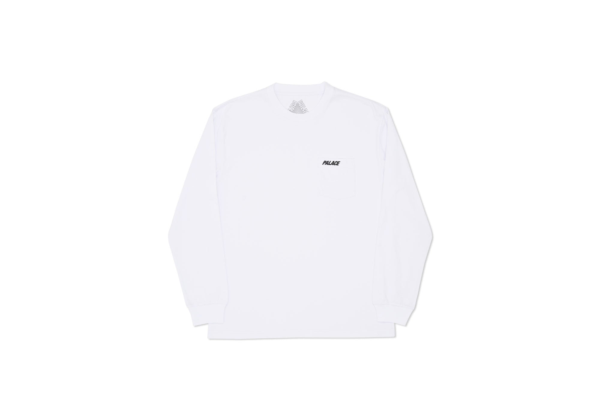 POCKET LONGSLEEVE WHITE