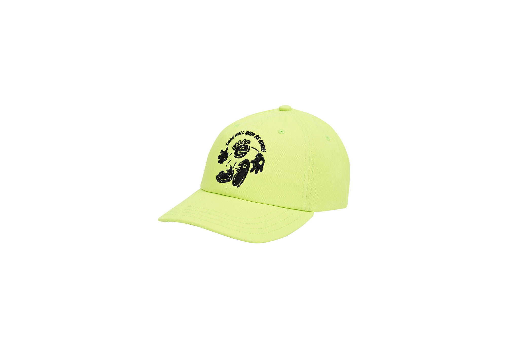 MDMAZING 6-PANEL FLURO YELLOW