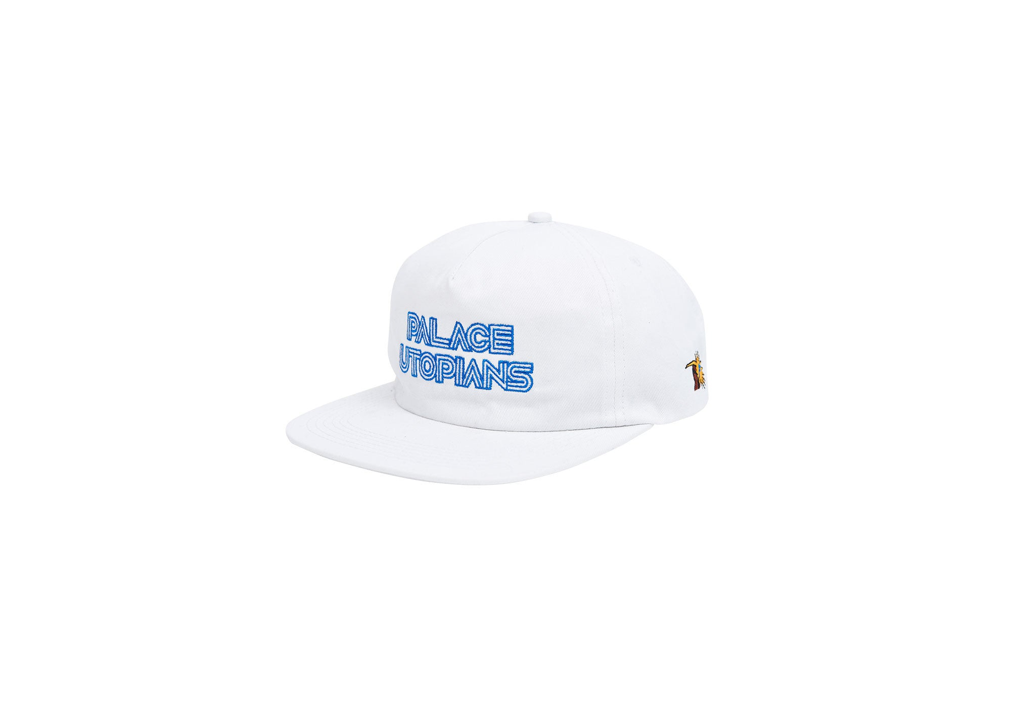 PALACE UTOPIANS 5-PANEL WHITE