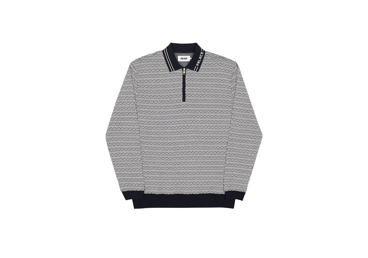 MACRO P HEAVY ZIP TOP BLACK / WHITE