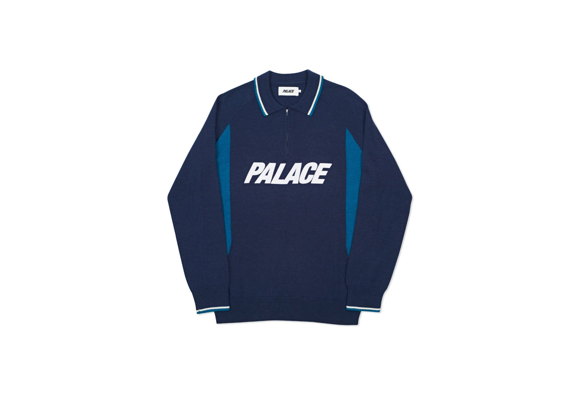 POLO ZIP KNIT NAVY