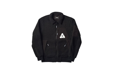 POLARTEC FLEE BOMBER BLACK