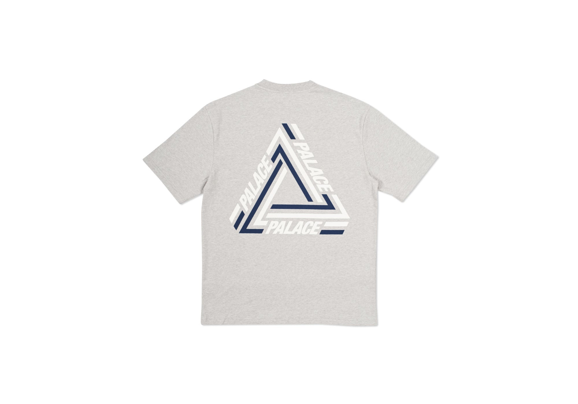 TRI-CRIB T-SHIRT GREY MARL