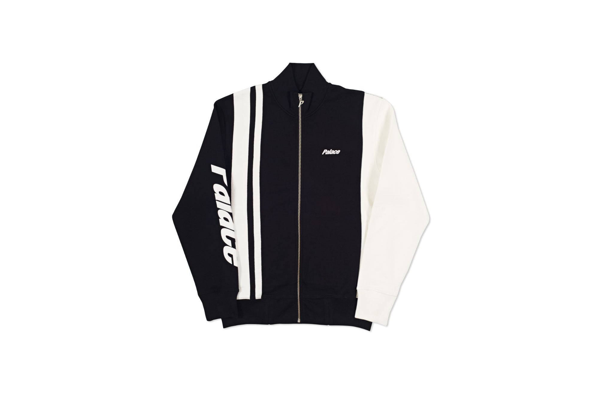 RACER TRACK TOP BLACK / WHITE