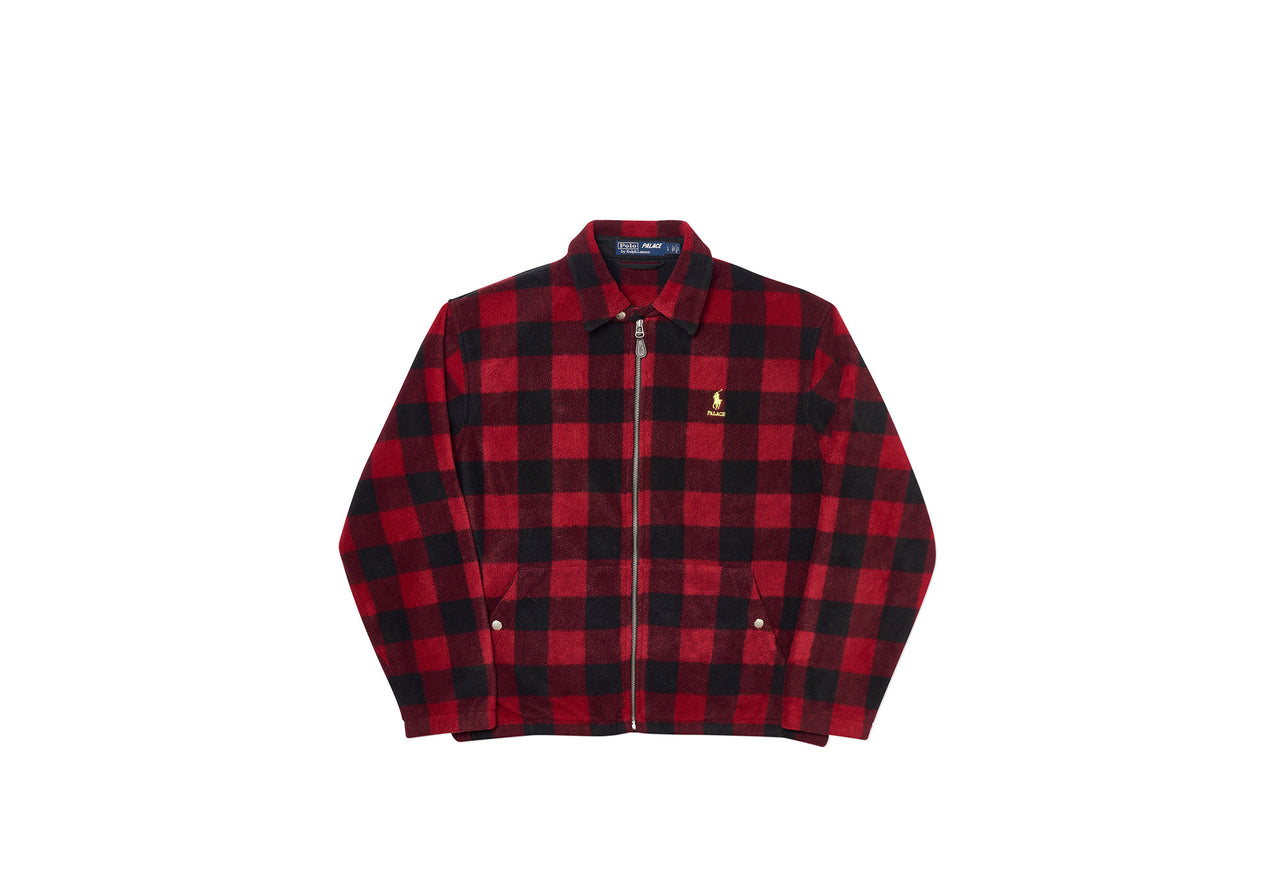 PALACE RALPH LAUREN POLAR FLEECE HARRINGTON BUFFALO PLAID