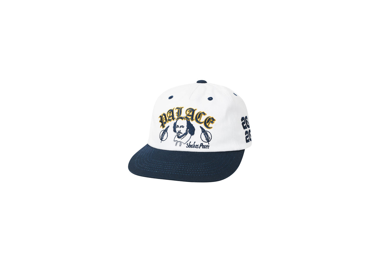AS YOU LIKE IT 5-PANEL WHITE / NAVY