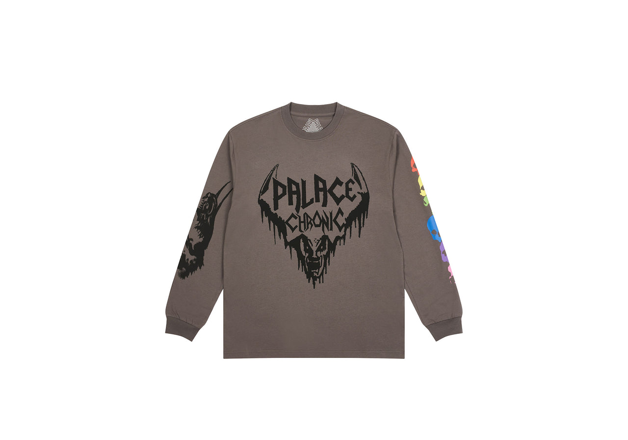 PALACE CHRONICLES LONGSLEEVE CHARCOAL